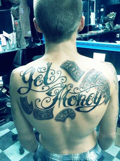 tattoo money logo get money tattoo