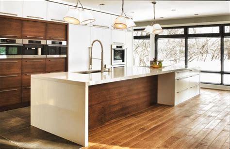 cuisine en bois blanc cuisine bois cuisine moderne bois blanc