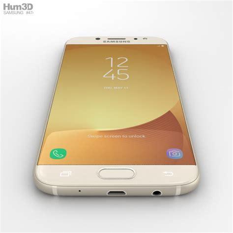 Samsung J7 Gold samsung galaxy j7 2017 gold 3d model hum3d