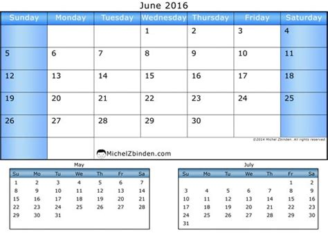 Calendar May And June 2016 7 Best Images Of June July August 2016 Calendar Printable