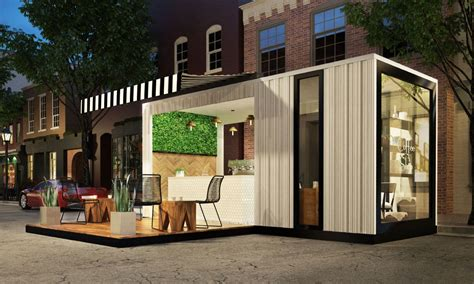 urban coffee shop design pop up retail coffee shop cafe urban revitalization