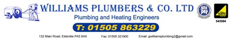 Williams And Co Plumbing by Heating Paisley Plumbers Glasgow Power Drain Clearing
