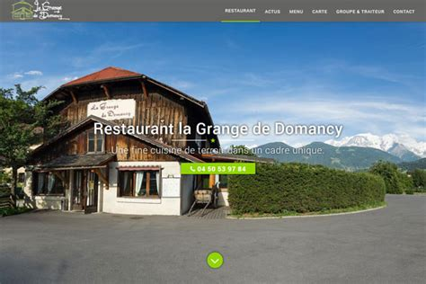 La Grange Domancy by Restaurant La Grange De Domancy