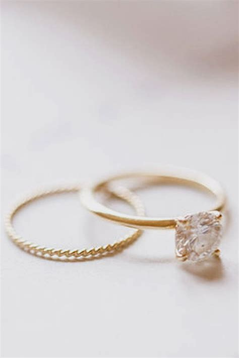 Wedding Rings Simple by Simple Gold Wedding Rings Wedding Promise