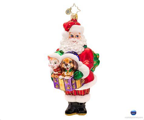 christopher radko santas companions christmas ornament