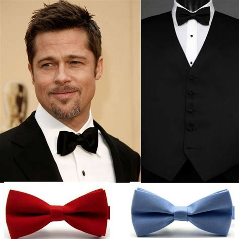 Classic Fashion Adjustable Novelty Mens Bow Tie Tuxedo