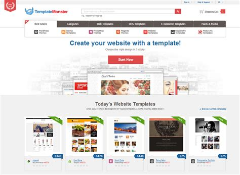 template monster wordpress themes flash templates und mehr