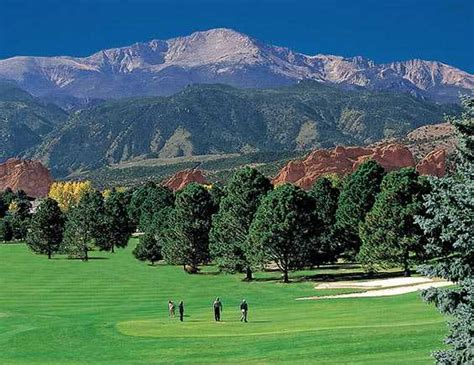 Garden Of The Gods Golf South Nine At Garden Of The Gods Club In Colorado Springs