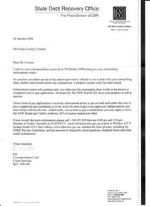letter fiona cristian reply to state debt recovery office