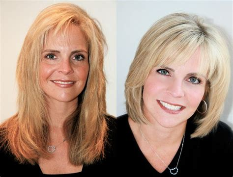 before and after haircuts for women before and after hair styles michael christopher