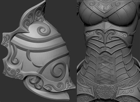 pattern zbrush making of elf by nikita volobuev zbrushtuts