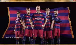 Download pes2015 barcelona 2015 2016 nike home kit start screen by