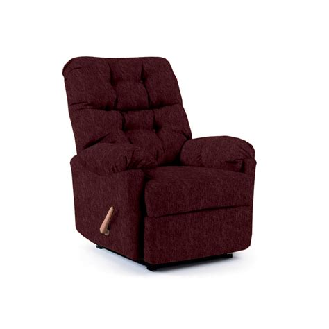 sears recliners furniture best home furnishings burgundy red space saver recliner chair
