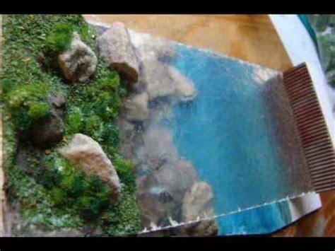 como hacer efecto espejo en maqueta como hacer agua en la maqueta wmv youtube