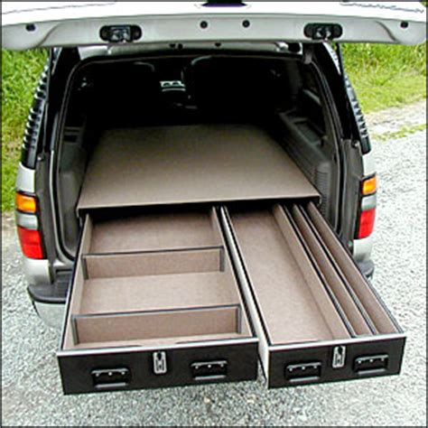 Truck Drawer Units by Truck Vault Offset Drawer Units