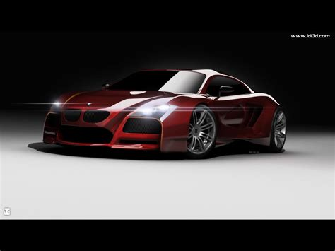 Super Concepts New Bmw M Supercar Concept A Main Competitor For An Audi
