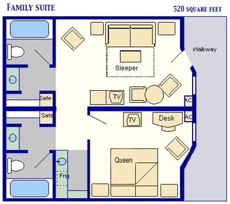 disney art of animation family suite floor plan mousesavers com family suites at disney s all star music