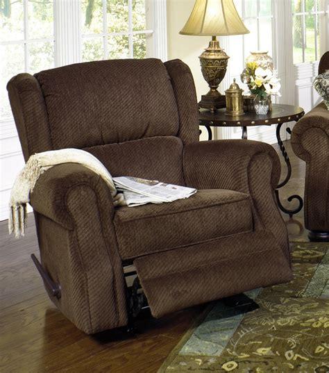 fabric rocker recliner carlton rocker recliner in java fabric by jackson