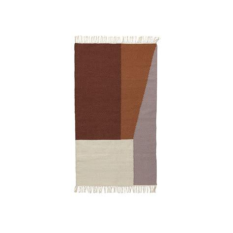 ferm living rug kelim rug borders by ferm living connox