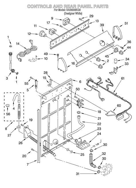roper washer schematics how to fix a washing machine