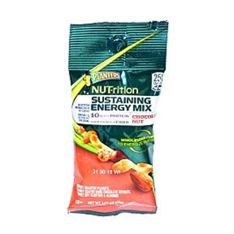Planters Energy Mix by Planters Nutrition Sustaining Energy Mix Chocolate Nut