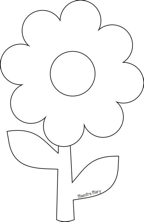 fiori da ritagliare e colorare 100 fiori primaverili da stare e colorare idees