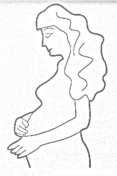 imagenes para pintar embarazadas colorear mujer embarazada dibujos para pintar picture to