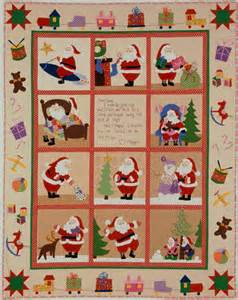 Santa Quilt Pattern by Dsc01709 Santa Claus Quilts Cake Designs 1950s And Cake