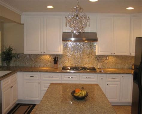 neutral backsplash a fabulous shimmering glass tile mosaic backsplash in warm