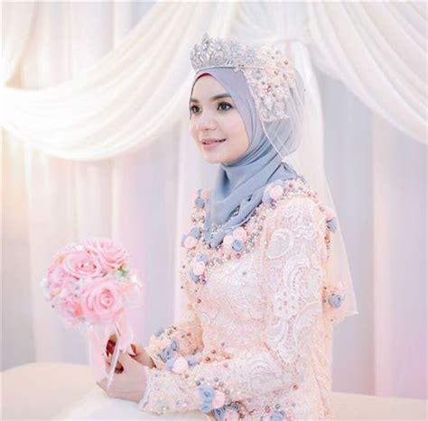 Kebaya Akad Nikah Muslim model kebaya muslimah untuk akad nikah terbaru 2017 2018