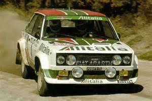Fiat 131 Abarth Rally Markku Alen Profile On Snaplap