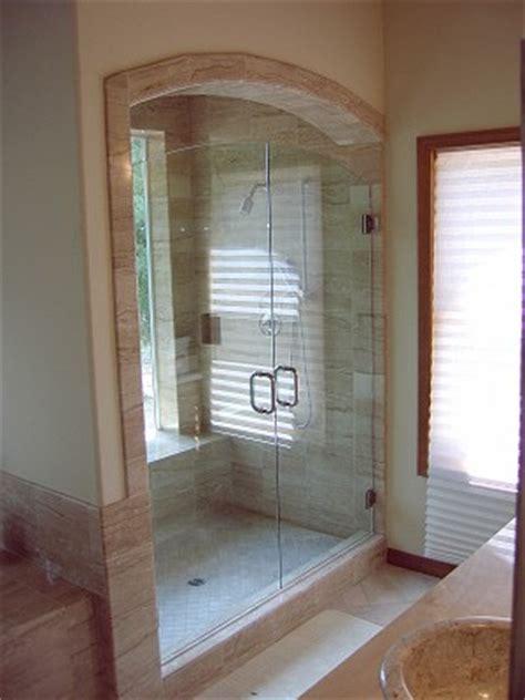 Arched Shower Door Mangham Glass Arched Shower Doors