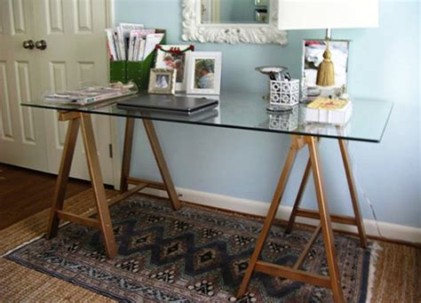 diy glass desk diy desk 5 you can make bob vila
