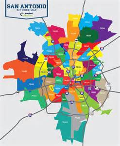 great zip code map of san antonio san antonio