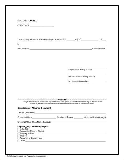 9 notary public templates pay stub template