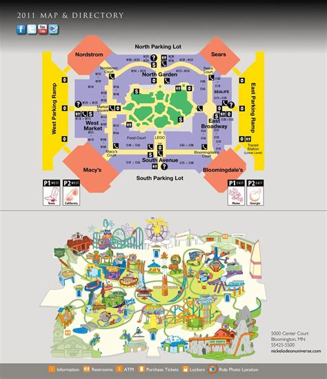 map of the mall of mall of america stores map roundtripticket me