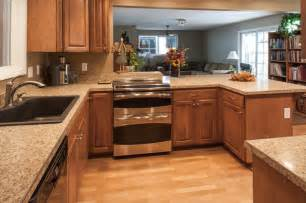 Laminate Flooring For Kitchens Birch Kitchen Cabinets Laminate Flooring Stainless Steel Oven Craftsman Kitchen