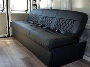 Sofa Converts To Bed Van Seats And Beds El Kapitan