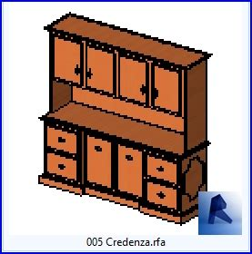 credenza engineering revit families credenza rf 06 kitchen 5 architecture