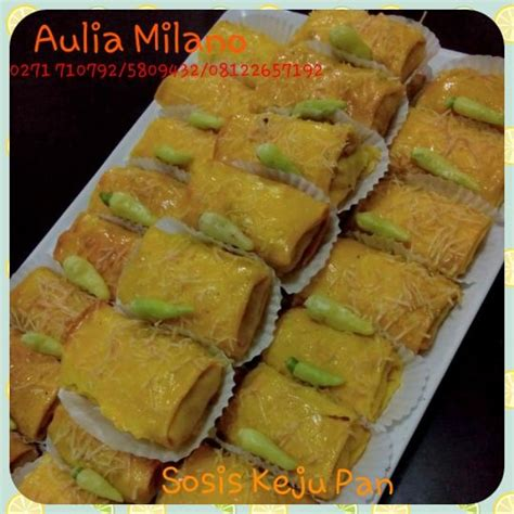 sosis keju pan pemesanan snack tradisional bakery