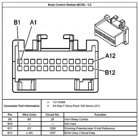 2006 gmc radio harness wiring diagrams wiring