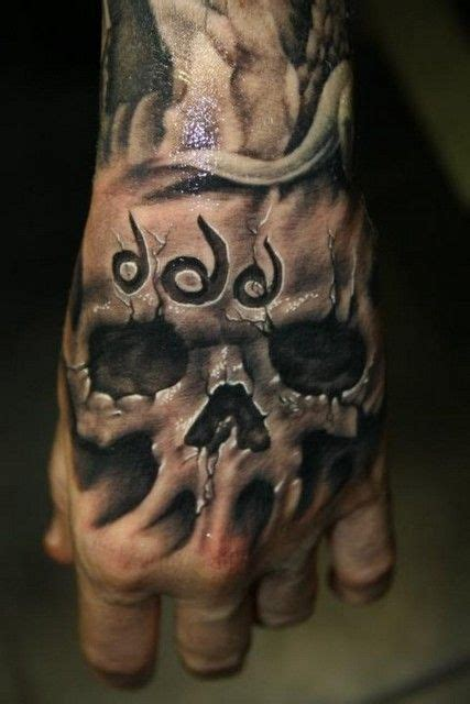 skull tattoo designs for hands 55 best tattoos images on skull