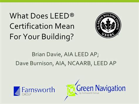 what is a leed certification what does leed certification mean for your building