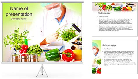 powerpoint themes free download vegetables lab and vegetables powerpoint template backgrounds id