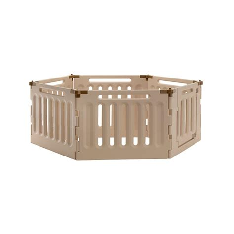 indoor puppy playpen pet playpen convertible durable plastic 6 panel portable foldable indoor outdoor ebay