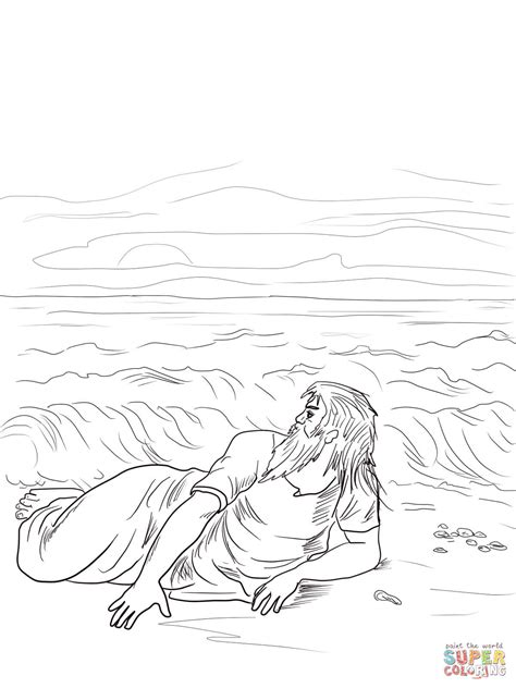 jonah vine coloring page jonah vomited out coloring page free printable coloring