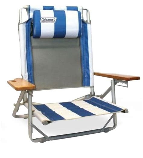 coleman beach chair recliner beach lounger chair snowys outdoors