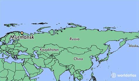 maps murmansk russia where is murmansk russia murmansk murmansk oblast map