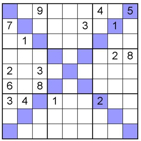 printable diagonal sudoku free sudoku x puzzle