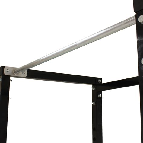 weight bench with pull up bar sale silver power cage squat rack pull up bar gym bench press weight lifting ebay